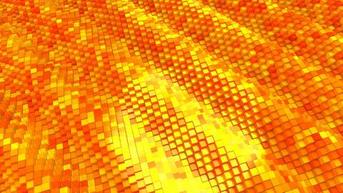 Orange Cubes Animation