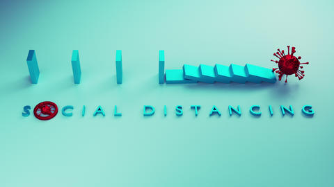 Social distancing2 Animation
