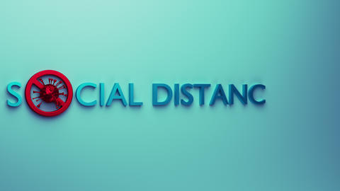 Social distancing Animation