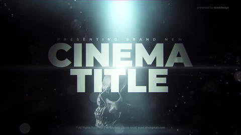 Cinema Trailer After Effects Template
