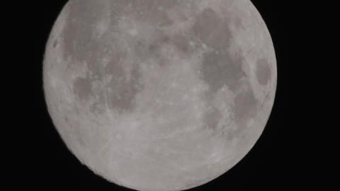 Full moon night move top left to bottom right Live Action