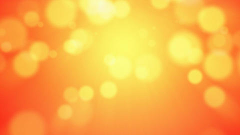 Abstract warm colored bokeh background seamless loop Animation