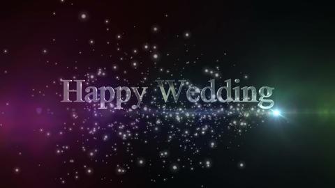 Happy Wedding_title Animation