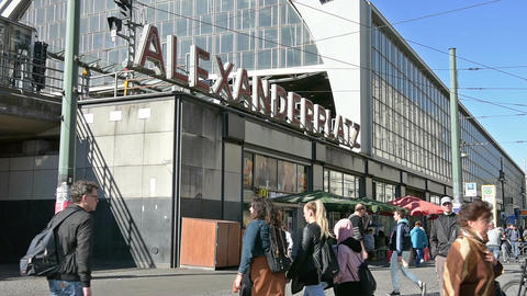 Alexander Platz Footage