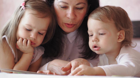 Family, childhood, motherhood, parenting, self-isolation, distance learning Live Action