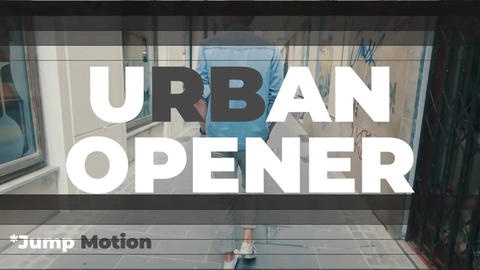 Jump Motion - Urban Opener Premiere Pro Template