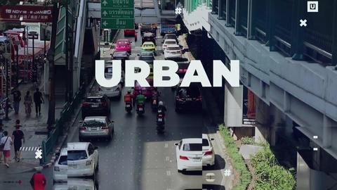 Upbeat Urban Opener Plantillas de Premiere Pro
