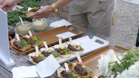 Delicious western beef cuisine and dishes Live Action
