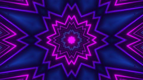 Neon Kaleidoscope Animation