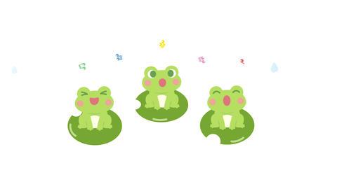 Frog sing animation Animation