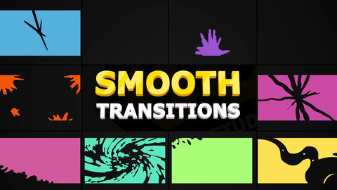 Smooth Transitions Pack After Effects Template