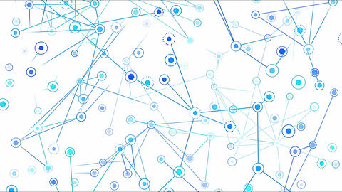 Connected Objects, Information Exchange Animation - Loop…, Stock Animation