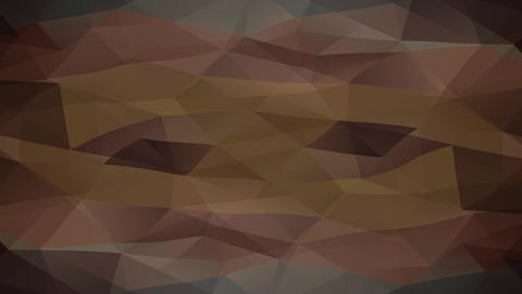 tv lines effect over an abstract design composed with triangles of different tones creating 3d Animation