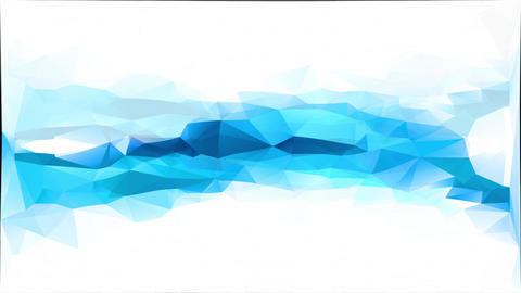 abstract forms with triangles creating a mosaic like frozen water running between ice under a Animation