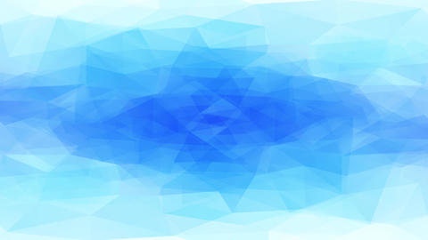 abstract chilly chill look waterhole crafted of 3d three shapes creating geometric crystal and Animation
