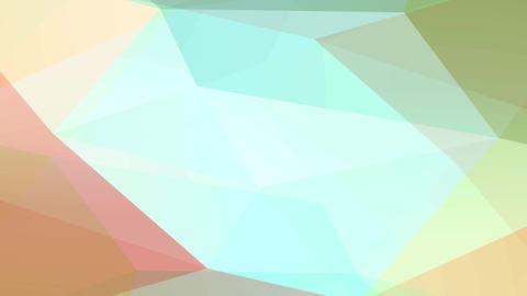 conceptual art with huge lighting and darkness triangles creating a 3d template with faint colors Animation