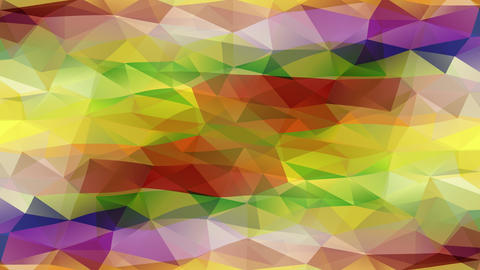 wow effect abstract design made with small triangular pieces assembled together creating pyramids Animation
