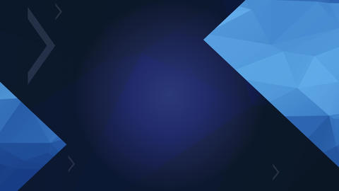 manual concept science designed with luxury triangular layers built of blue 3d abstraction forms for Animation