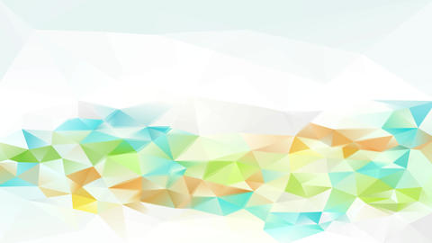 conceptual set up creating a perfect pattern of small triangles with bright and shadowy tones giving Animation