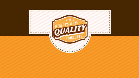 distinctive packaging for a high value product composed with three different layers put together and Animation