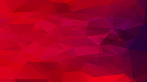 abstract plan with bloody red tones created with geometric triangles located indistinctly in the Animation