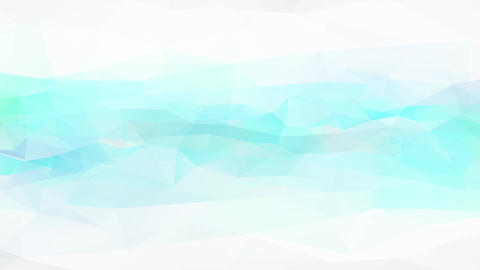 light green and blue liquid texture of abstract polygon and triangle figures over striped sheet Animation