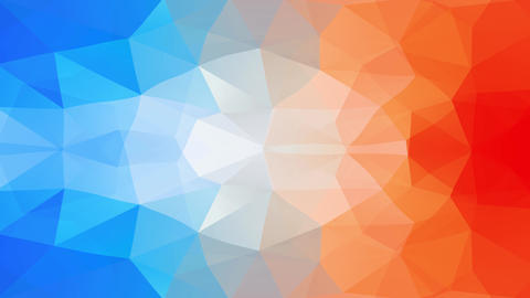 abstract multicolor origami shape layout darker on the outside and getting white on the inside Animation