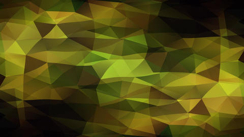 amazing abstract pattern made with many triangle faces attached creating a mosaic of diamond heads Animation