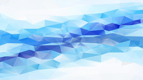 3d abstract tech background level layer crafted with triangles creating polygon template with darker Animation