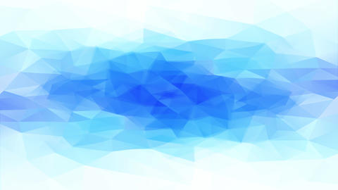 abstract frozen cold looking waterhole made of 3d triangle shapes creating geometric ice and snow Animation