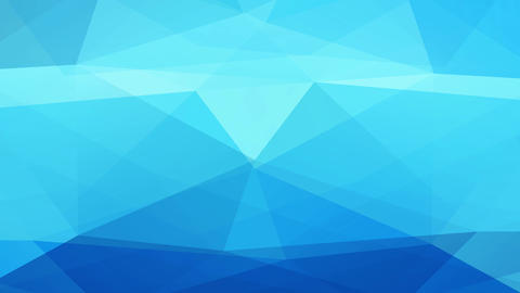 blue 3d three design creating polygon figures with a lined layer giving an mature television effect Animation