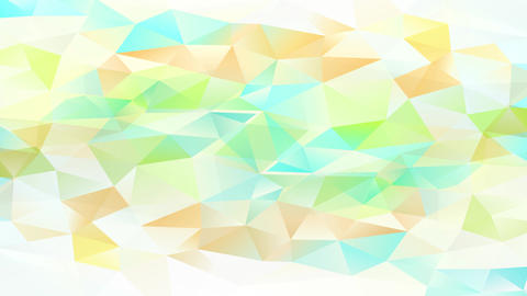 understanding set up forming a ideal template of small triangles with shiny and shadowy tones Animation