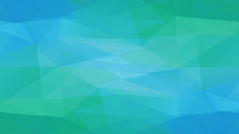 turquoise background design created with abstract forms made with geometric polygon forms like Animation