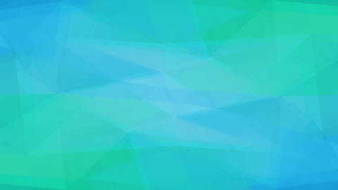 turquoise background design created with abstract forms made with geometrical polygon forms like Animation