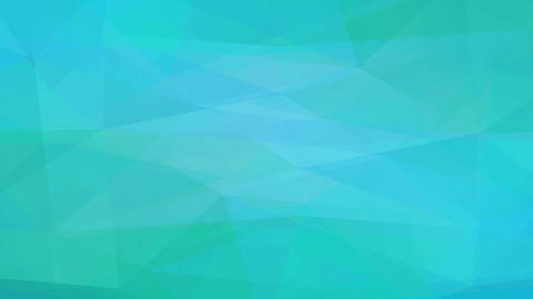 emerald scene design created with abstract forms crafted with geometrical polygon forms like Animation