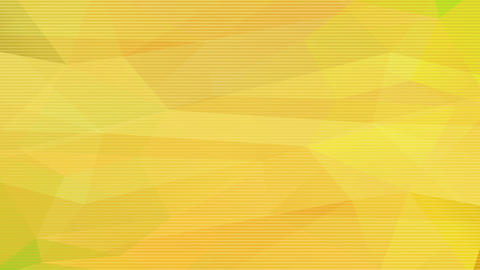 light yellow abstract plaques composed by 3d triangles merging into one darker homogenized layer Animation