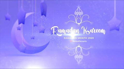 Ramadan Kareem After Effectsテンプレート