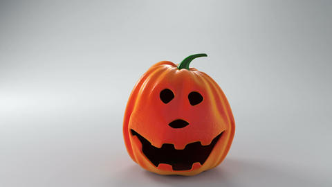 Halloween pumpkins having fun Animation