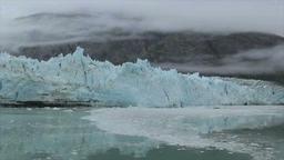 View of Margerie Glacier at Glacier Bay National Park, Alaska Footage