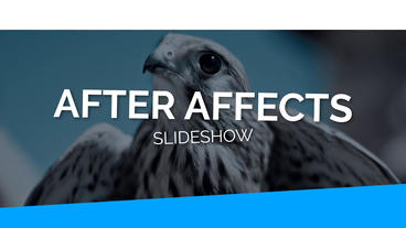 The Slideshow After Effects Template