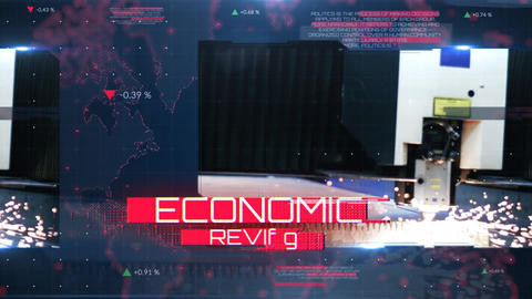 Economic Review After Effects Template