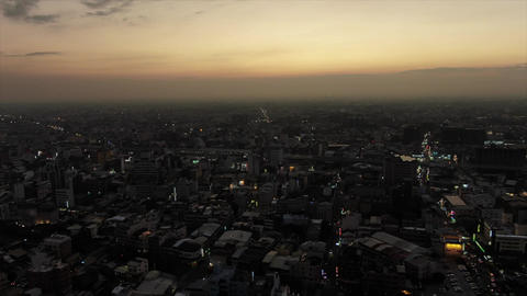 4K Drone Sunset Footage For Filmmakers、Youtuber Live Action