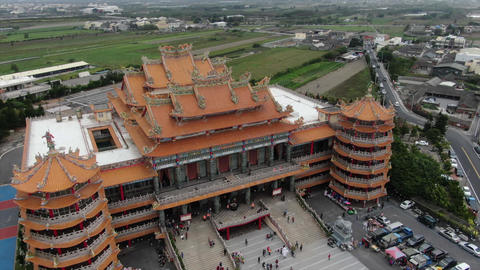 4K Drone Temple Footage For Filmmakers、Youtuber Live Action
