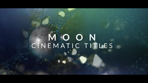 Fantastic Moon Movie Titles Premiere Pro Template