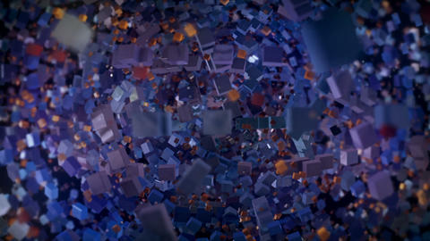 Cubes vj loop Animation
