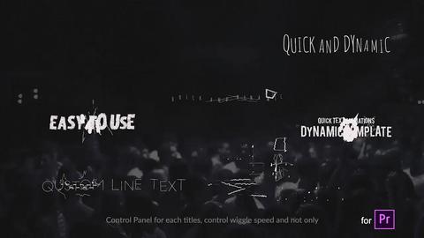 Folding Titles - Grouped version // MOGRT // Premiere Pro Motion Graphics Template