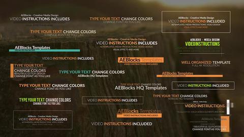 Concept Glitch Titles with SFX // MOGRT // Premiere Pro Plantillas de Motion Graphics