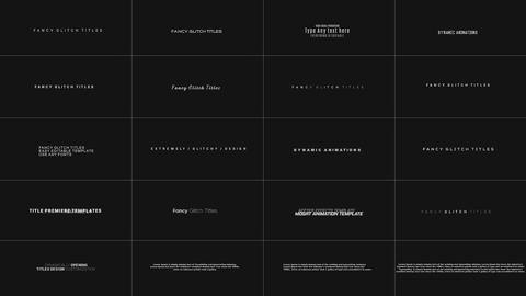 Digital Glitch Titles with SFX // MOGRT // Premiere Pro Plantillas de Motion Graphics