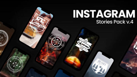 Instagram Stories v4 After Effects Template