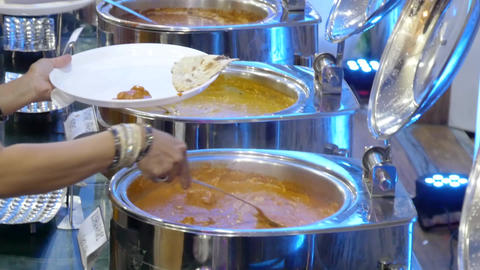 delicious indian curry cuisine and dishes Live Action